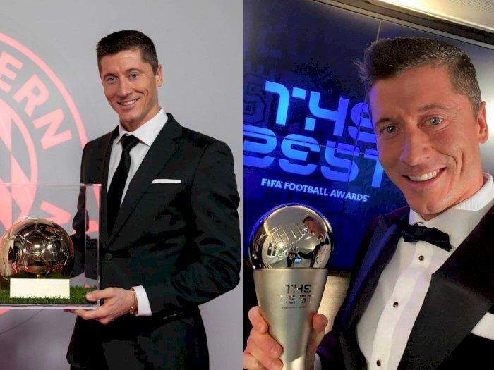 Selamat! Lewandowski Dinobatkan Sebagai Pemain Terbaik FIFA 2020, Ungguli Messi & Ronaldo