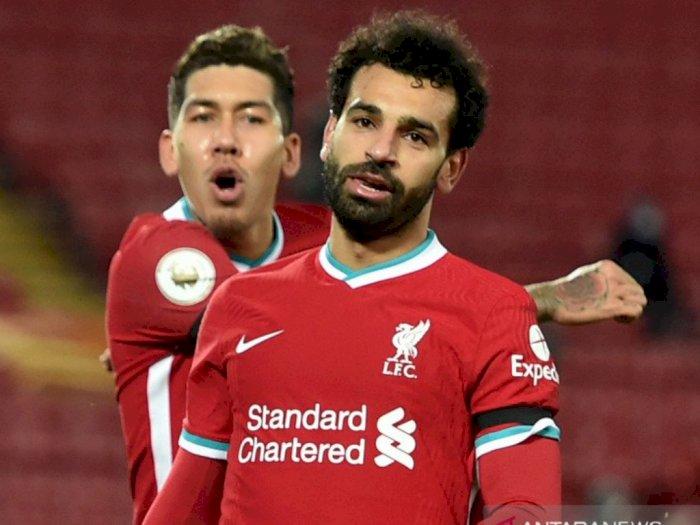 Raih Top Score Liga Premier Inggris, Mohamed Salah Tolak Pindah ke Real Madrid/Barcelona