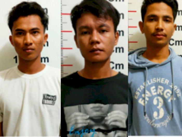 Kantongi Sabu-sabu, Tiga Pemuda di Langkat Diciduk Petugas saat Duduk-duduk di Warung