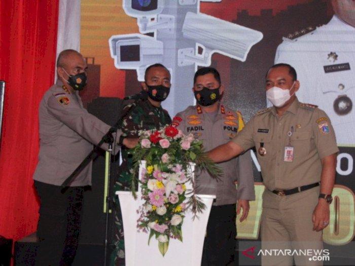 Tingkatkan Keamanan dan Ketertiban, Polda Metro Jaya Resmikan CCTV No Blindspot di Jakbar