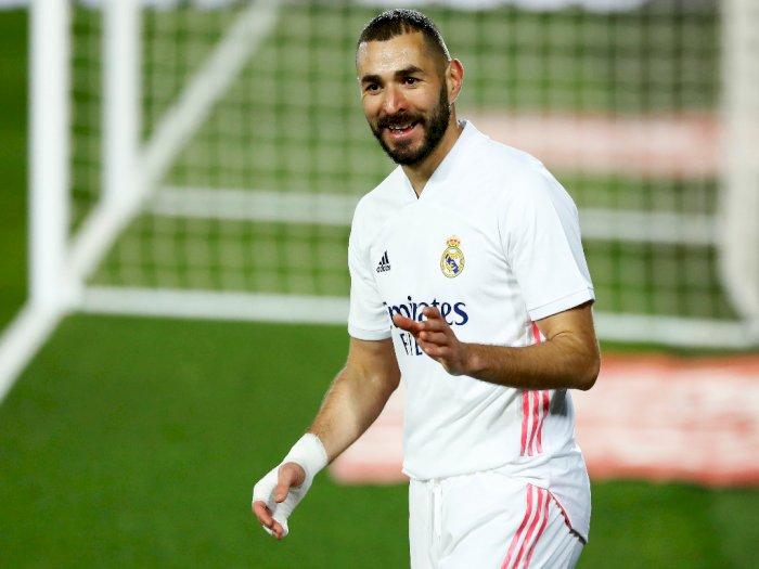 Eibar 1-3 Real Madrid: Zidane Lagi-Lagi Puji Benzema yang Sumbang Gol dan Assist