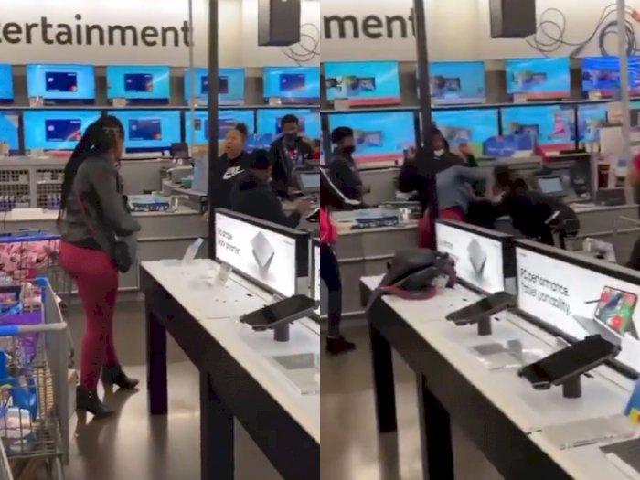Demi PS5, Dua Wanita Ini Baku Hantam di Toko: Siapa Pemenangnya?