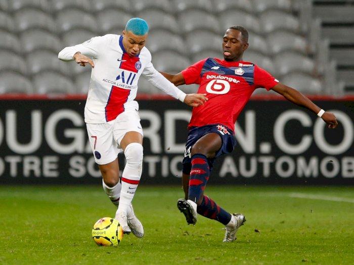 FOTO: Liga Prancis, Lille vs PSG Berakhir Tanpa Pemenang