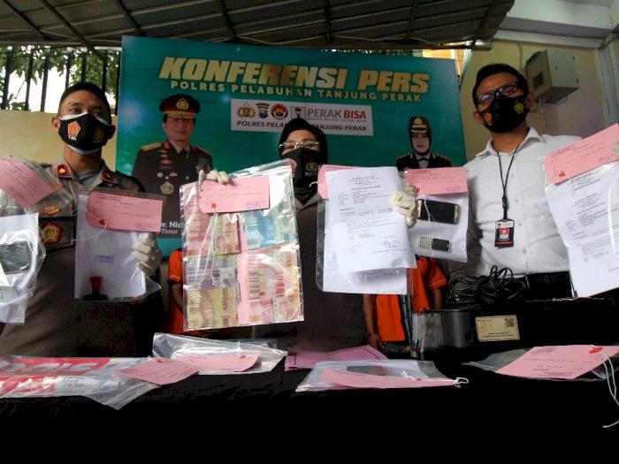 FOTO: Kasus Pemalsuan Dokumen Hasil Tes Cepat
