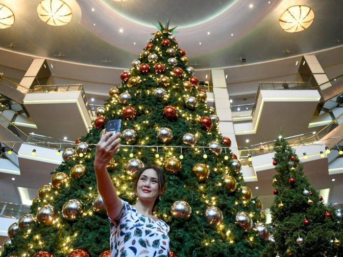 FOTO: Suasana Natal di Mal
