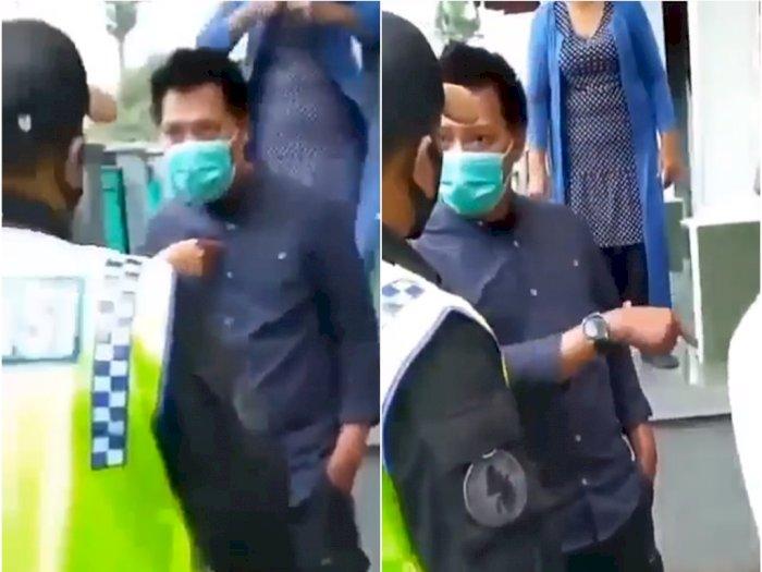 Tamu dari Jakarta Dilarang Berkunjung, Warga Lawan Petugas: Kami Keluarga Militer