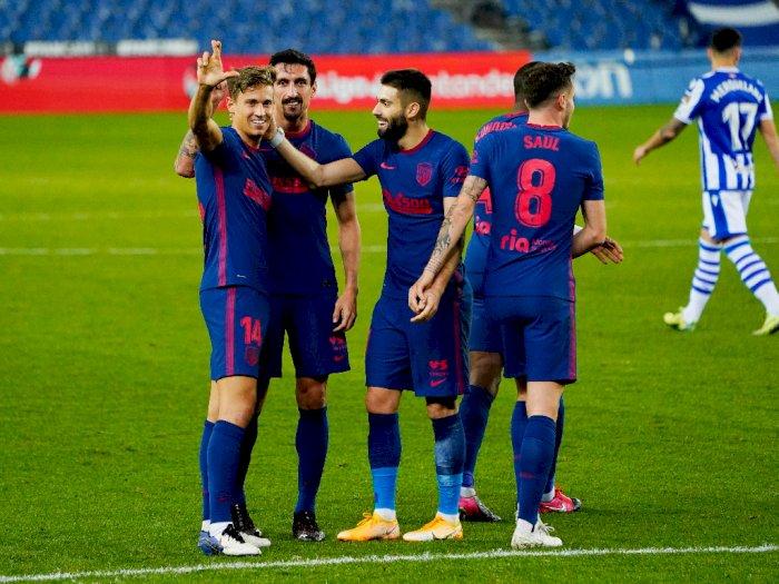 Liga Spanyol: Real Sociedad Vs Atletico Madrid Skor Akhir 0-2