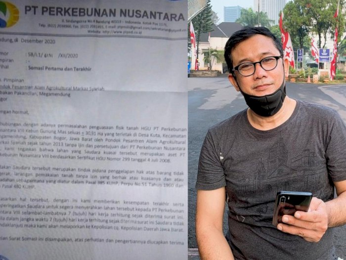 Pesantren Rizieq Digusur, Denny Siregar Tuding Masa SBY Lahan Dikuasai Tak Sah Sejak 2013