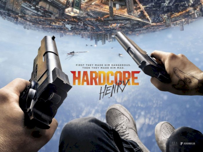 Sinopsis 'Hardcore Henry (2015)' -  Misi Selamatkan Istri Setelah Bangkit dari Kematian