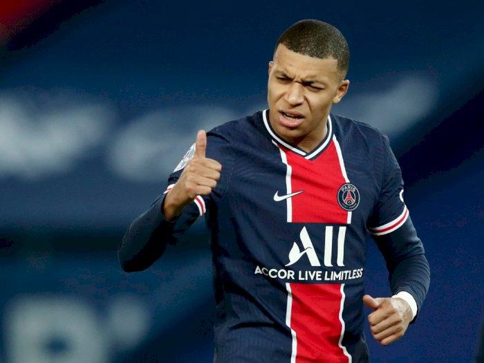 FOTO: Liga Prancis, PSG Menang Telak 4-0 Atas Strasbourg