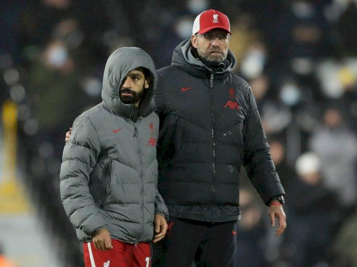 Klopp Angkat Bicara Perihal Spekulasi Masa Depan Salah di Liverpool