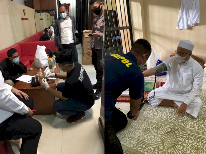 Polri Pastikan Selalu Lakukan Security Food untuk Habib Rizieq