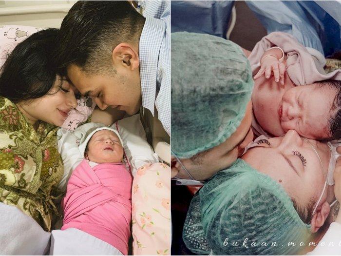 7 Potret Haru Kelahiran Anak Pertama Asmirandah, Paras Cantiknya Bikin Terpesona