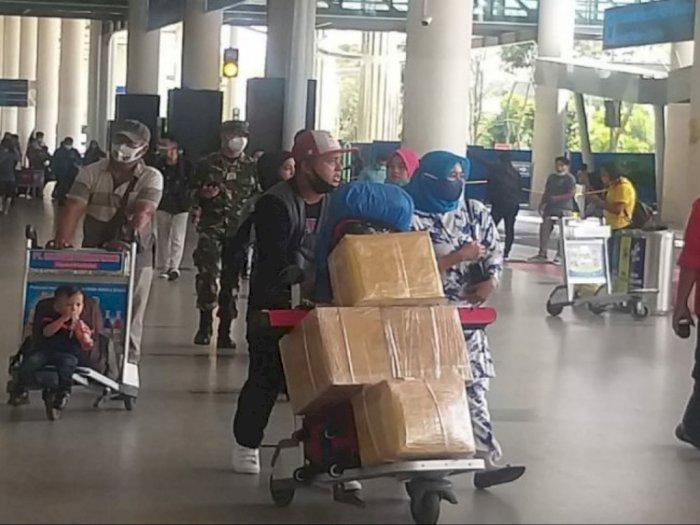 Bandara Kualanamu Masih Ramai Pemudik Libur Panjang Natal dan Tahun Baru