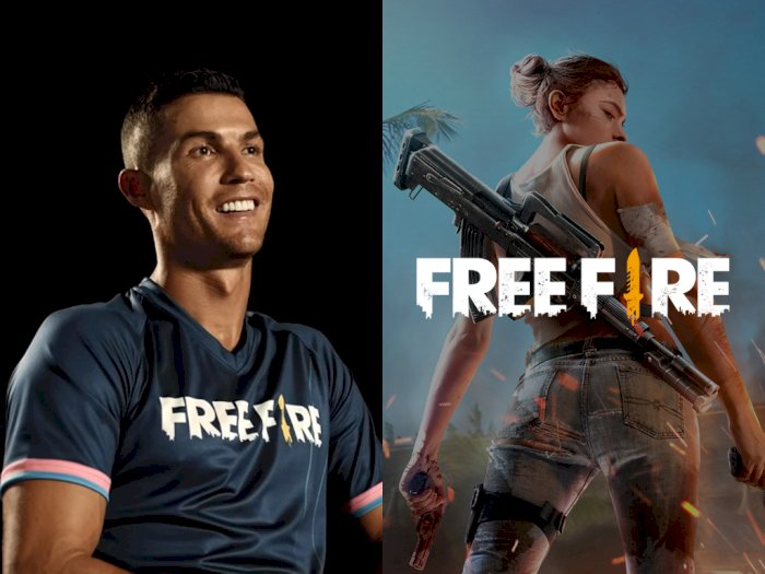 Cristiano Ronaldo Resmi Jadi Brand Ambassador dari Game Free Fire!