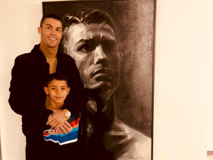 Perihal Masa Depan Cristiano Junior, Ronaldo: Saya Tak akan Memaksanya Jadi Pesepakbola