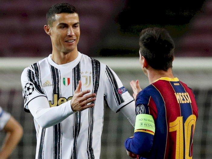 Puji Sang Rival, Messi: Ronaldo Atlet yang Menonjol Dalam Sepak Bola