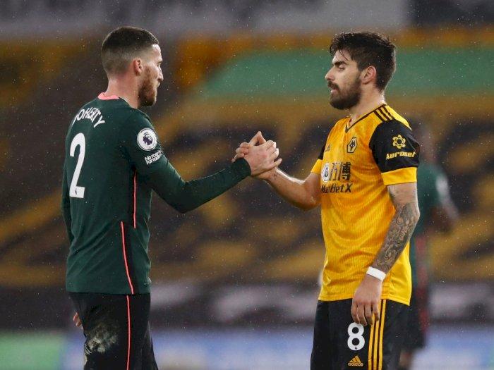 FOTO: Liga Inggris, Wolves vs Tottenham Berakhir Imbang 1-1