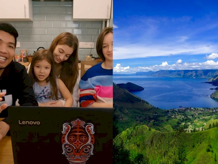 Ini Reaksi Orang Ukraina Nonton Video 'The Heart of Toba' Wonderful Indonesia, Tercengang!