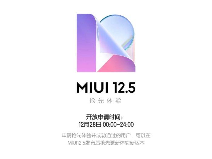 Xiaomi Mulai Buka Registrasi Closed-Beta MIUI 12.5 untuk 21 Perangkat!