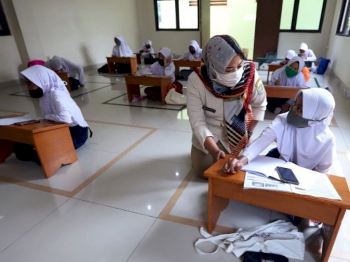 Tim Satgas Verifikasi 98 Sekolah di Tebingtinggi untuk Belajar Tatap Muka Awal Tahun Depan