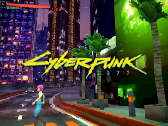 Seperti Ini Jadinya Jika Game Cyberpunk 2077 Diluncurkan di PlayStation 1