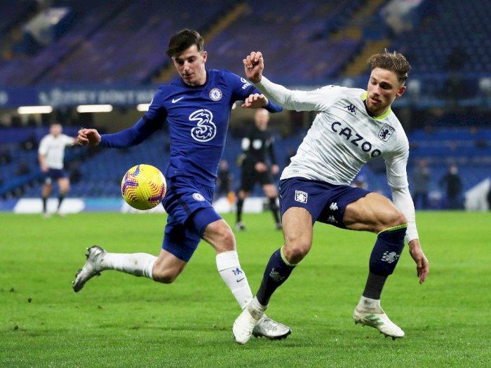 Chelsea VS Aston Villa Berakhir Skor 1-1 di Stamford Bridge