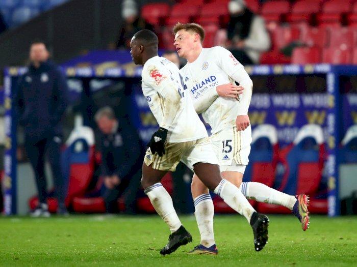 Leicester Imbangi Skor 1-1 saat Bermain di Markas Palace