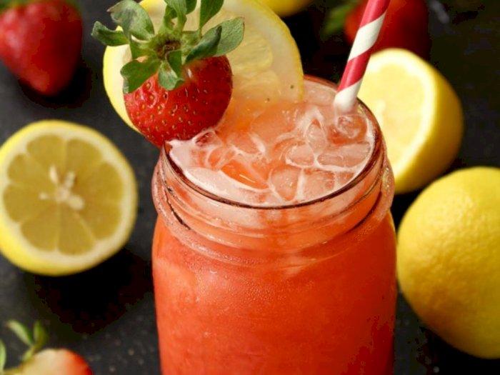 Resep Limun Strawberry untuk Temani Hidangan Berlemak | Indozone.id