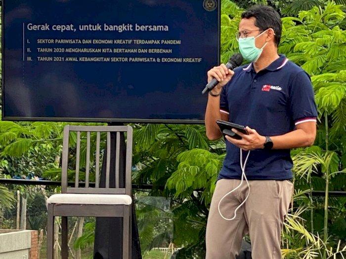 Menparekraf Sandiaga Uno Beri Respon Soal Larangan WNA Masuk Indonesia