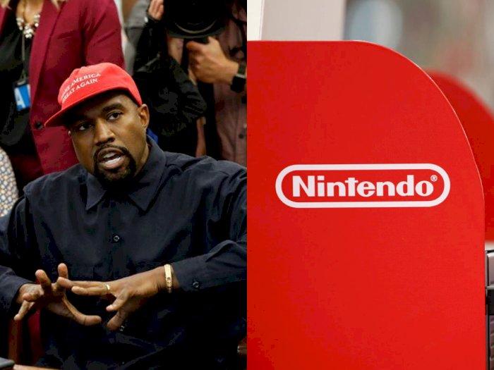 Kanye West Ternyata Sempat Ingin Buat Game dengan Nintendo, Hanya Saja...