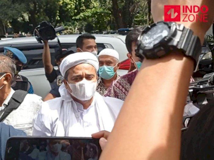 FPI Dilarang Pemerintah, Habib Rizieq Shihab Tanggapi Santai: Itu Masalah Receh
