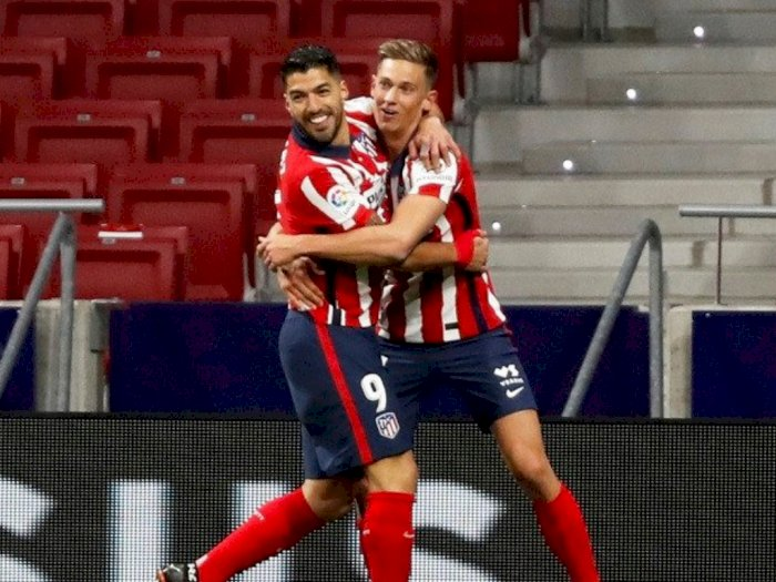 Luis Suarez Berhasil Antarkan Atletico Tundukkan Getafe