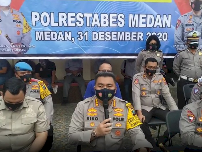 Batasi Jam Malam, Polisi Gelar Operasi Yustisi Perayaan Tahun Baru 2021 di Tempat Publik