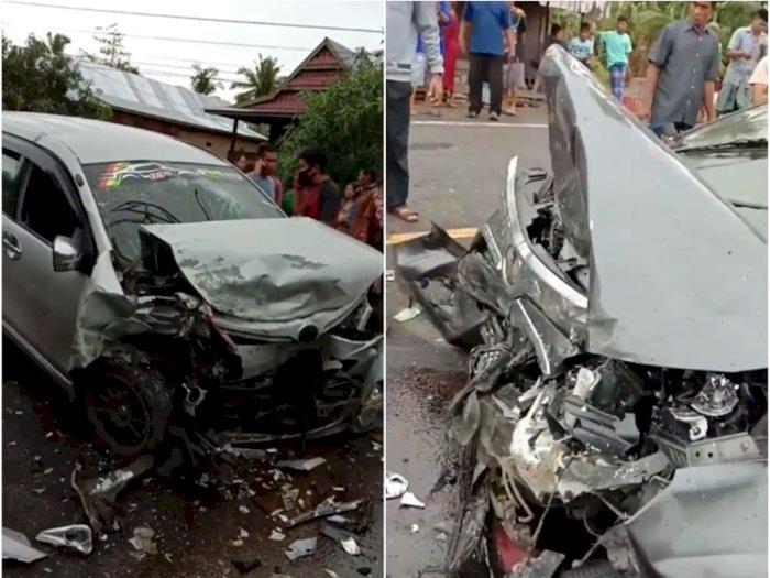 Kecelakaan Maut Dua Mobil Keluarga Laga Kambing, 2 Orang Tewas