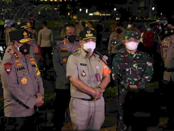 Pergantian Tahun, Wagub DKI Riza: Crowd Free Night Berhasil, Tak Ada Kerumunan