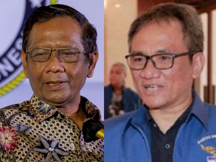 Dinilai Andi Arief Lebih Dengar Jenderal Tua Pelanggar HAM, Mahfud MD Meradang Sebut SBY