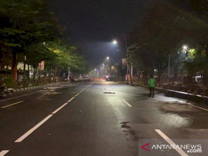 Malam Pergantian Tahun Baru 2021 di Makassar, Sepi dan Tanpa Kembang Api
