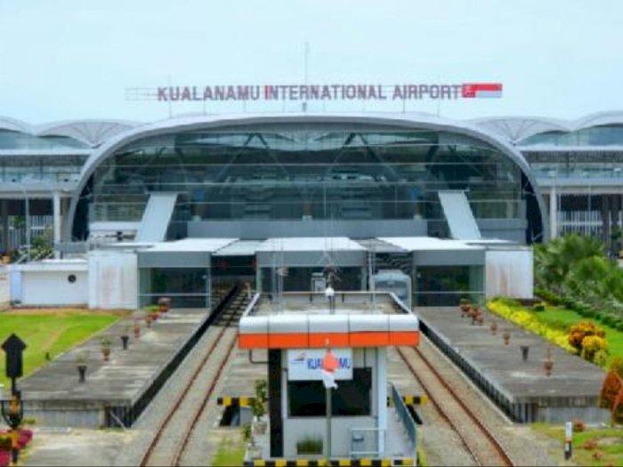 Total Memudik Akhir Tahun di Bandara Kualanamu Capai 4.924