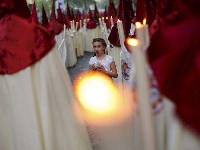 Seville Batalkan Parade Paskah Terkenal di Spanyol karena Virus Corona
