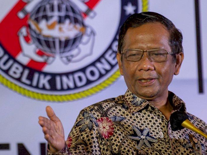 Bantah Kriminalisasi Ulama, Mahfud MD Nyatakan FPI 'Ganti Kulit' Boleh, Secara Hukum Sah