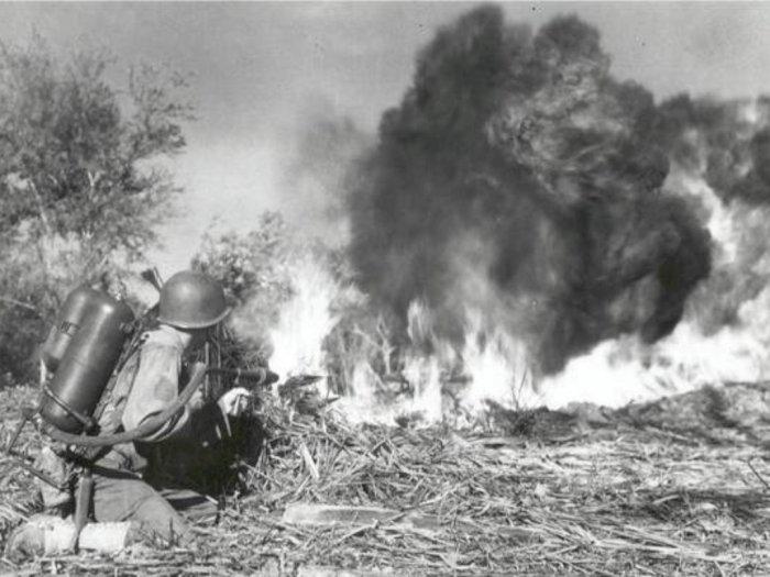 Grossflammenwerfer, Senjata Penyebur Api Milik Tentara Jerman Perang Dunia I