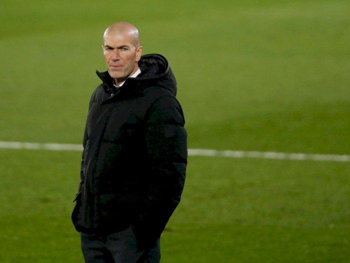 Soal Masa Depannya di Madrid, Zidane: Tidak Ada yang Tahu, Manfaatkan Saja Momen yang Ada