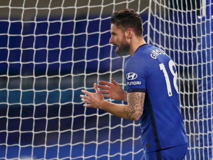 Kode Keras Giroud Bakal Bertahan di Chelsea: Saya Ingin yang Terbaik untuk Tim Ini