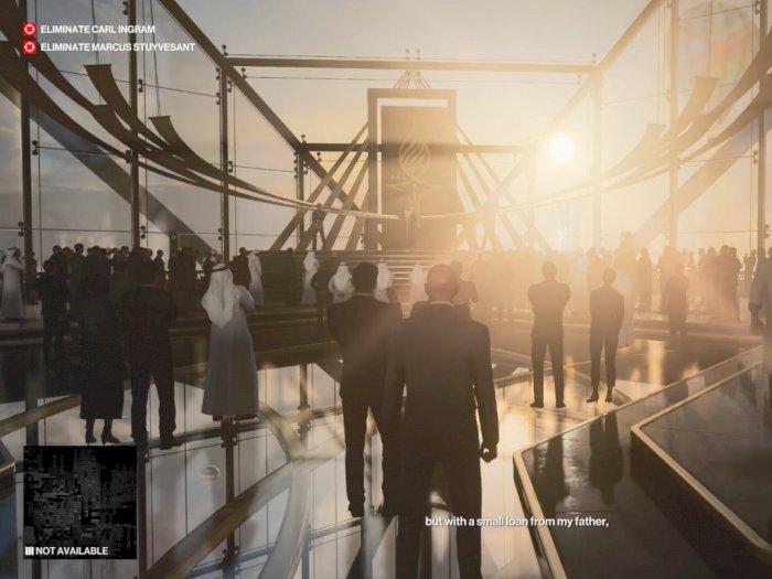 Melihat 5 Menit Gameplay HITMAN III dengan Misi Berlokasi di Dubai!