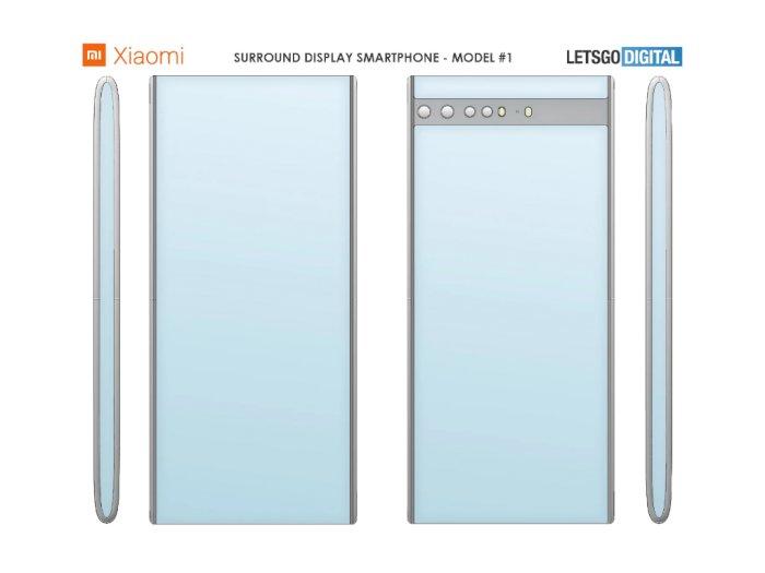 Xiaomi Patenkan Desain Smartphone Baru dengan Layar di Seluruh Bagiannya!