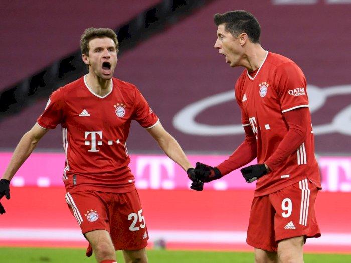 FOTO: Liga Jerman, Bayern Munich Menang Telak 5-2 Atas Mainz 05