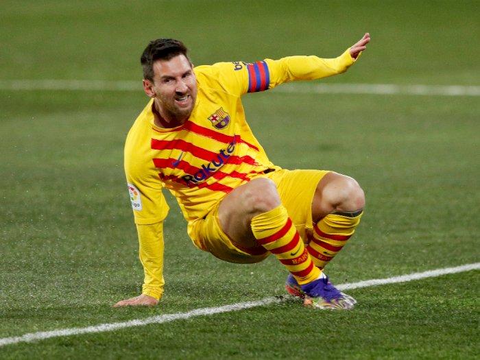 FOTO: Liga Spanyol, Huesca vs Barcelona 0-1