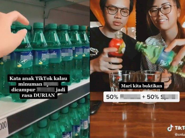 Viral Video Eksperimen Minuman Soda Campur Teh, Jadi Rasa Durian Lho!