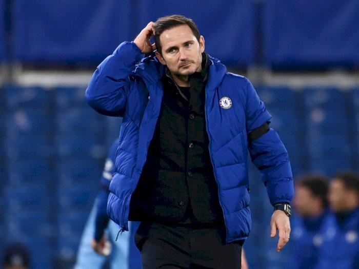 Chelsea Tersungkur di Liga Premier, Rumor Pemecatan Lampard Menguat, Begini Katanya